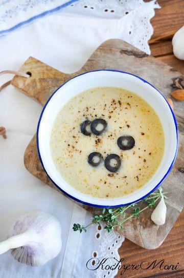 Rezept Knoblauchcremesuppe mit Mandelmilch
