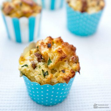 Rezept Knödel-Cupcakes