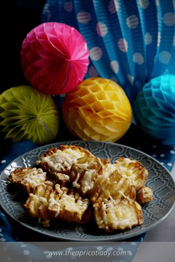 Rezept Knusperkartoffeln easy & cheesy