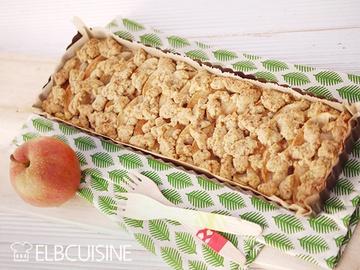 Rezept Knusprige Apfeltarte – mit vollem Korn und gesundem Zucker