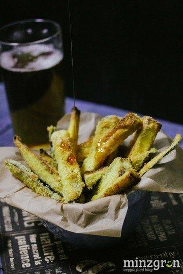 Rezept Knusprige Auberginen-Pommes