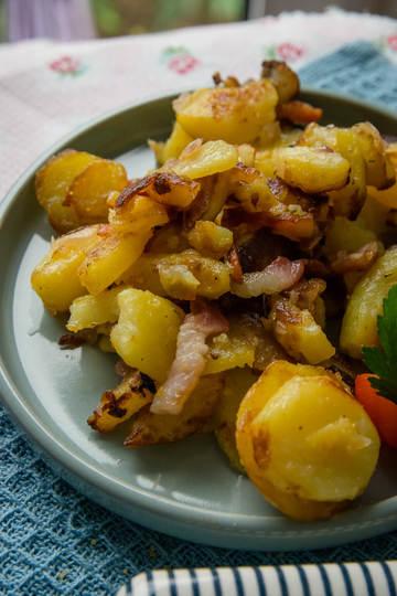 Rezept Knusprige Bratkartoffeln die schmecken wie von Mama gemacht