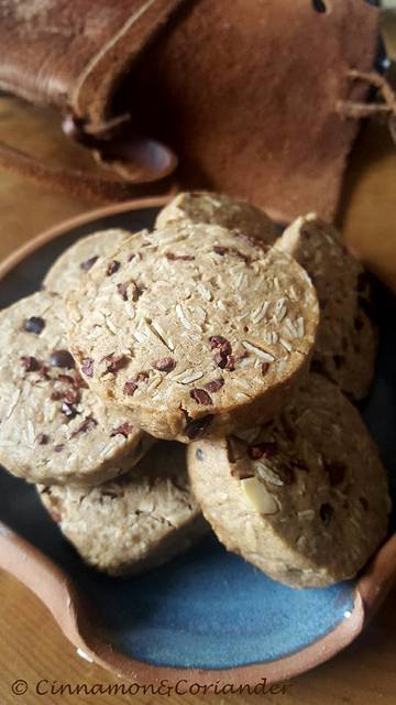 Rezept Knusprige Haferkekse mit Kakao Nibs
