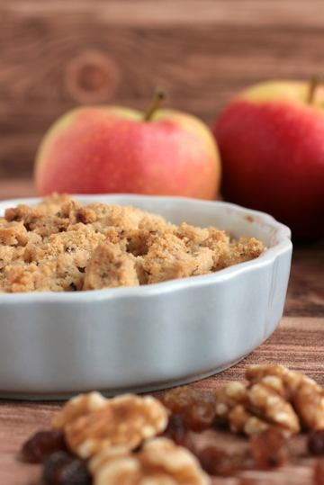 Rezept Knuspriger Apple Crumble