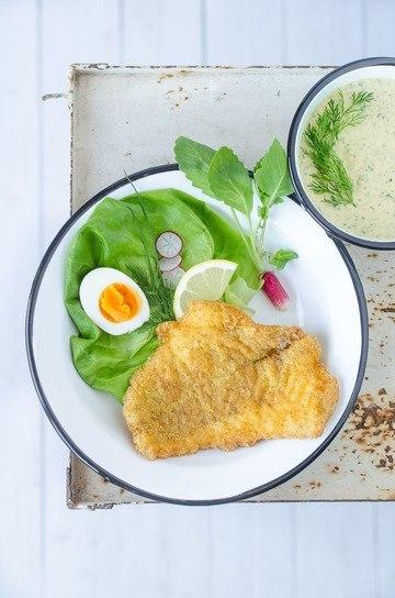 Rezept Knuspriger Backfisch