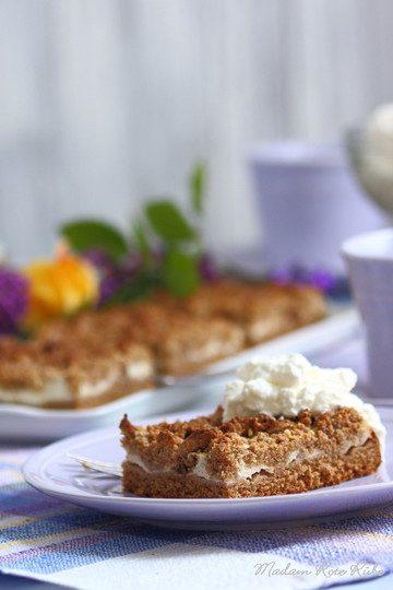 Rezept Knuspriger Zwetschgenmus-Streusel-Blechkuchen