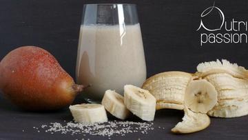 Rezept Kohl-Banane-Birnen Smoothie