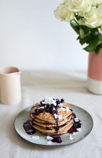 Rezept Kokos-Pancakes
