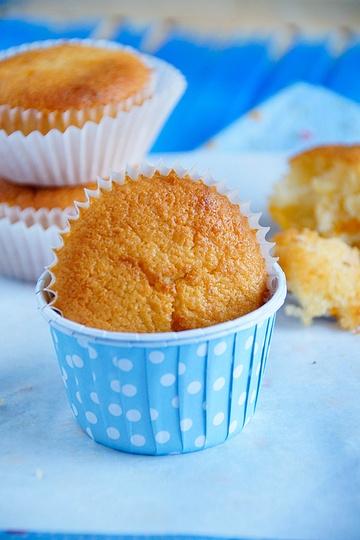 Rezept Kokos-Pfirsich-Muffins