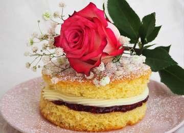 Rezept Königlich: Victoria Sponge Kuchen