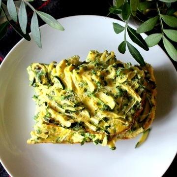 Rezept Kookoo Kadoo - persische Zucchini Frittata
