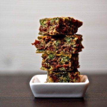 Rezept Kookoo Sabzi - Omelett mit Berberitzen, Koriander und Petersilie