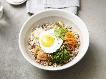 Rezept Koreanische Reis-Bowl Bibimbap