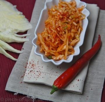 Rezept Koreanischer Krautsalat