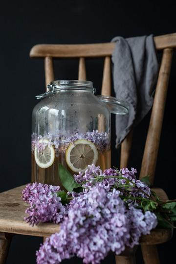 Rezept köstlich süßer fliedersirup