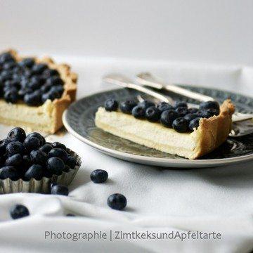 Rezept Köstliche Ricotta-Blaubeer-Tarte