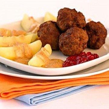 Rezept Köttbullar | Schwedische Fleischbällchen