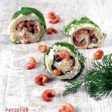Rezept Krabbenbrot-Sushi