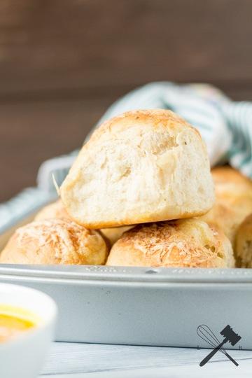 Rezept Kräuter und Käse Brötchen