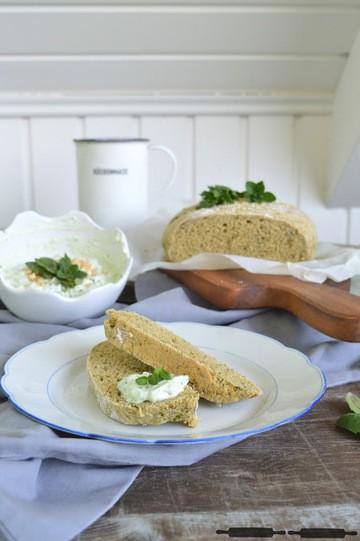 Rezept Kräuterbrot mit Cashew Dip