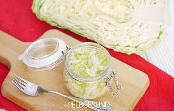 Rezept Krautsalat – einfacher geht's nicht!