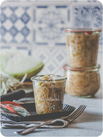 Rezept Krautsalat, eingeweckt