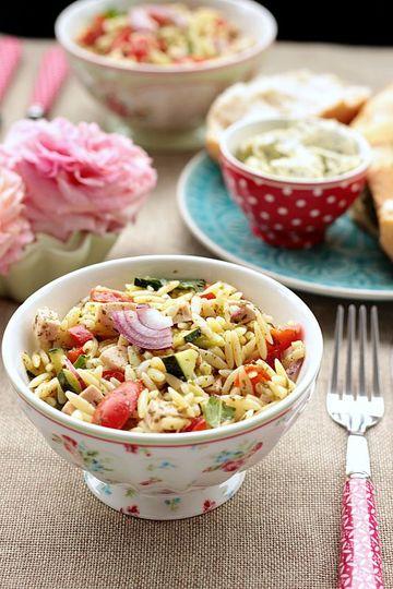 Rezept Kritharaki / Orzo Salat