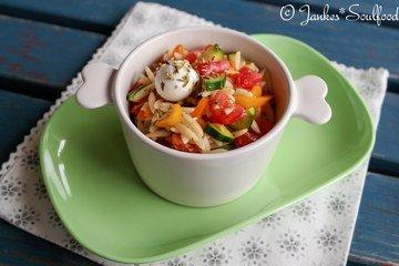 Rezept Kritharaki-Salat
