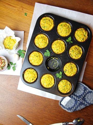 Rezept Kuku Sibzamini - Persisches Kartoffelomelette