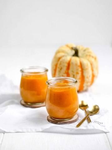 Rezept Kürbis Apfel Marmelade – gesund und zuckerfrei fürs Frühstück