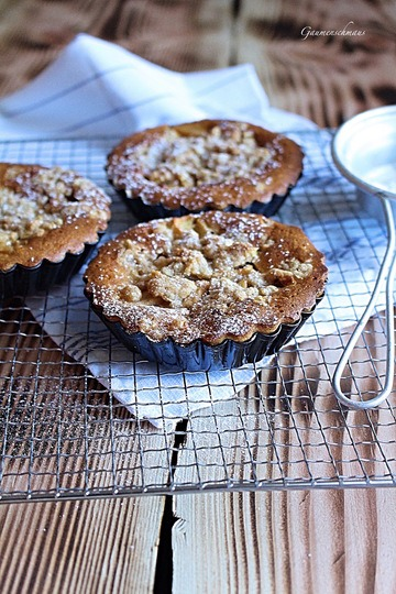 Rezept Kürbis-Apfel-Tartelettes