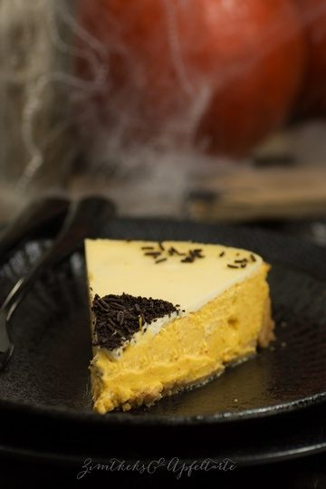Rezept Kürbis-Cheesecake mit Schmandtopping