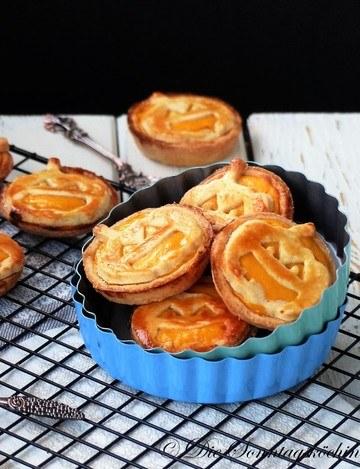 Rezept Kürbis Cheesecake Tartelettes