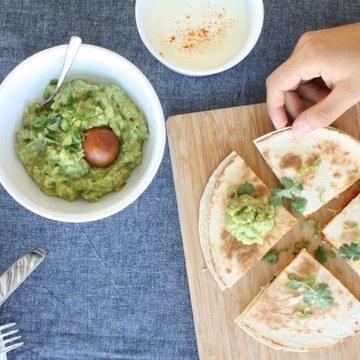 Rezept Kürbis-Chorizo-Quesedillas mit Guacamole