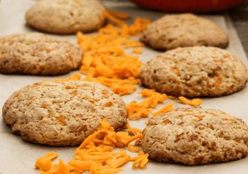 Rezept Kürbis-Cookies mit Ingwer und Nüssen