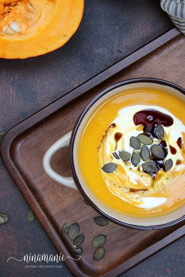 Rezept Kürbis-Creme-Suppe