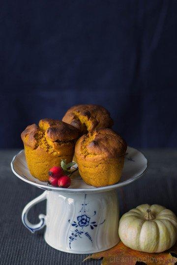 Rezept Kürbis-Emmer-Muffins