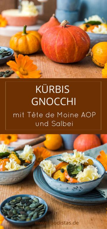 Rezept Kürbis Gnocchi mit Tête de Moine AOP