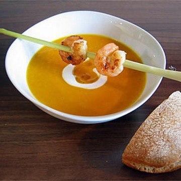 Rezept Kürbis-Kokos-Suppe