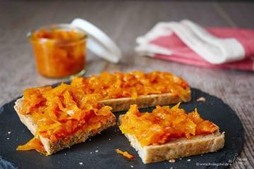 Rezept Kürbis Konfitüre – Der herzhaft-süße Brotaufstrich im Herbst