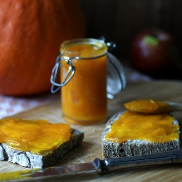 Rezept Kürbis-Marmelade mit Ingwer