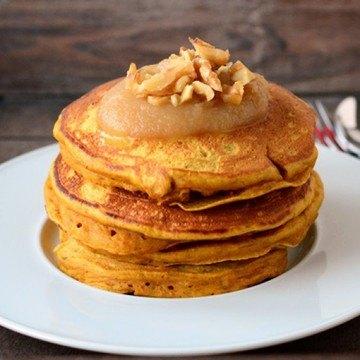 Rezept Kürbis-Pancakes