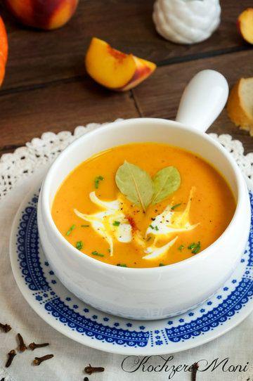 Rezept Kürbis Pfirsich Cremesuppe