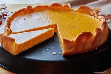 Rezept Kürbis Pie mit Zimt und Ingwer
