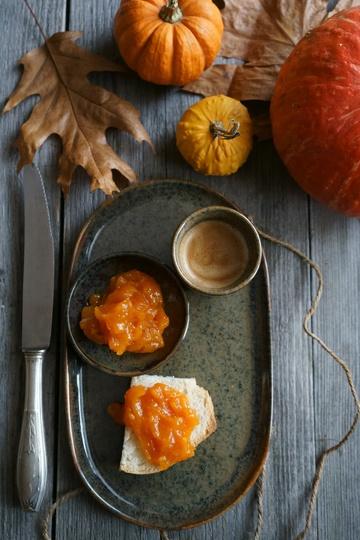 Rezept Kürbis-Sekt-Marmelade mit Zimt