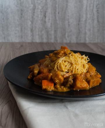 Rezept Kürbis-Süßkartoffel-Curry