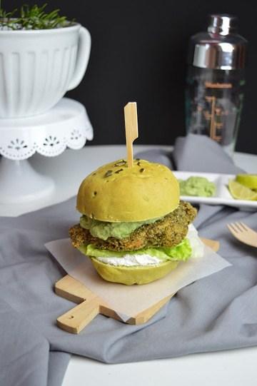 Rezept Kürbiskern Burger Bun Rezept