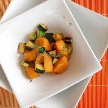 Rezept Kürbisnocken mit Zucchini
