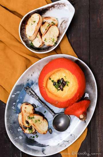 Rezept Kürbissuppe aus dem Ofen