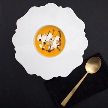 Rezept Kürbissuppe mit einem Hauch Zimtblüte